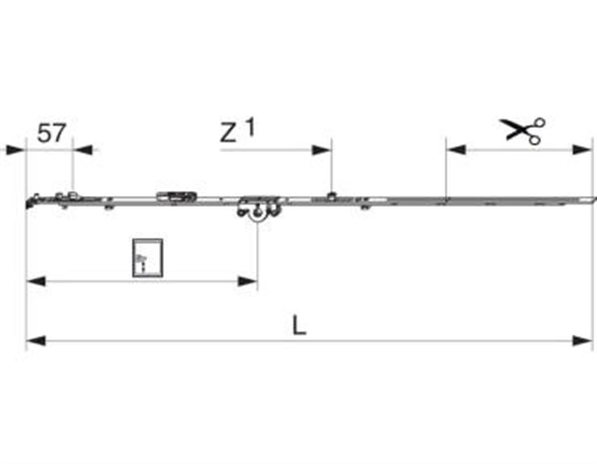 Cremonese Multi Matic 840 E15 fix con bilanciere c