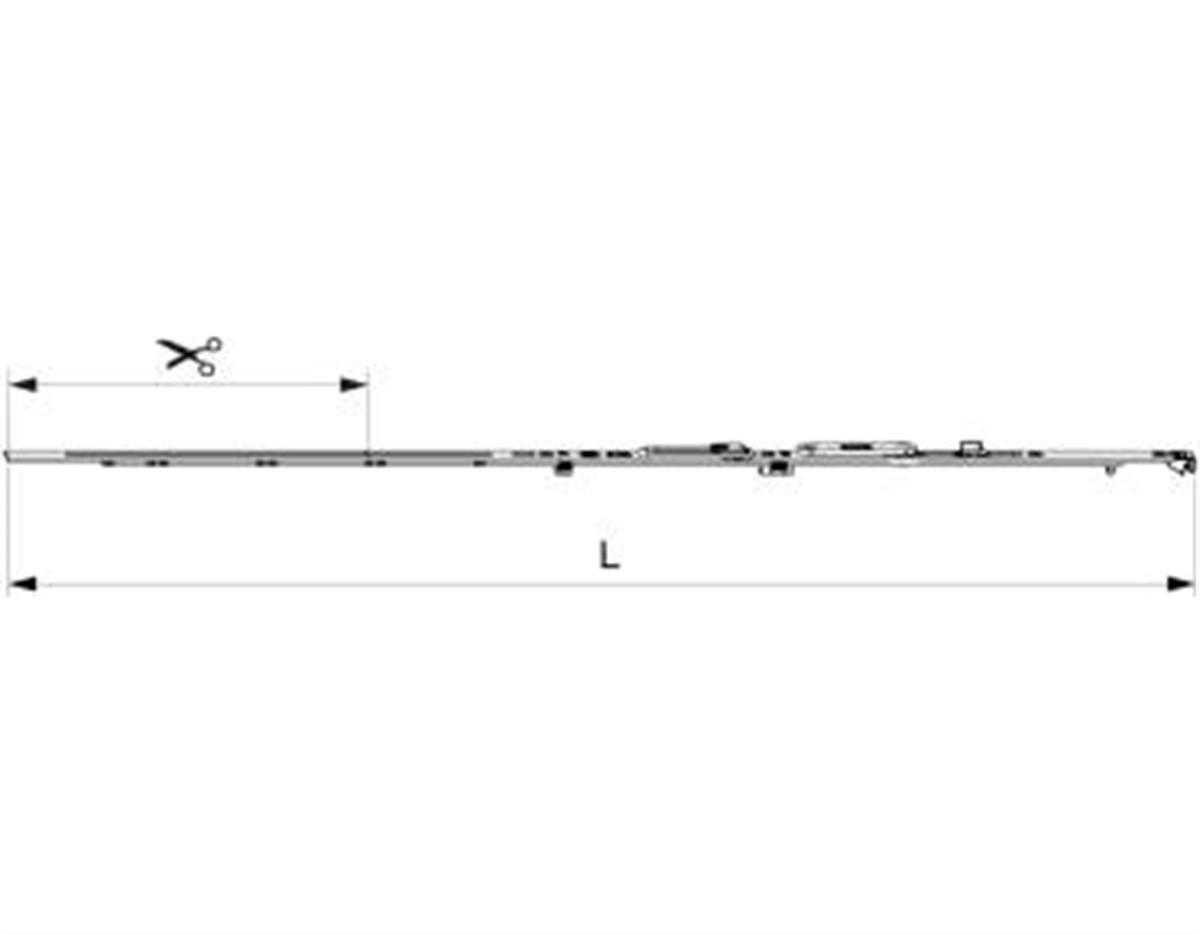 Frontale forbice Multi Matic per aerazione Multi P