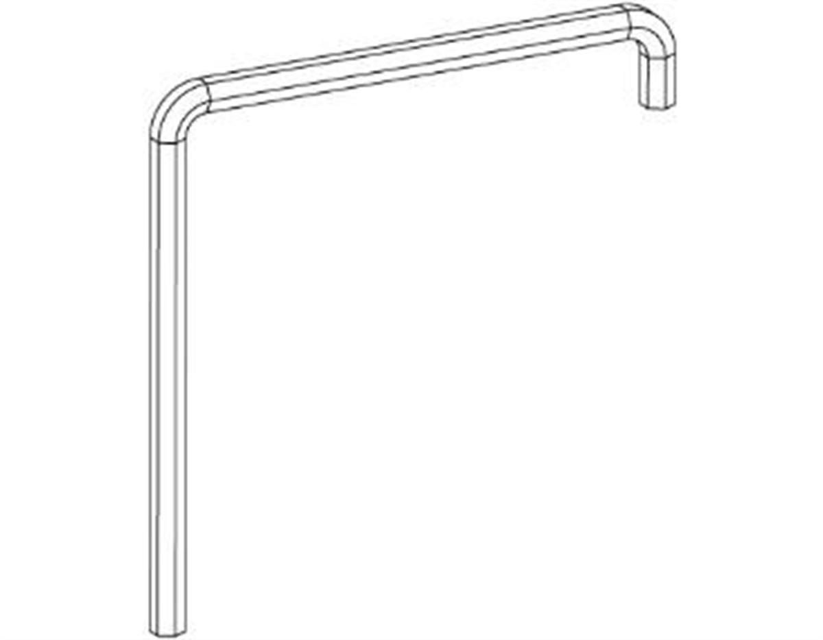 Chiave regolazione Brugola, 2 x piegato, lunghezza