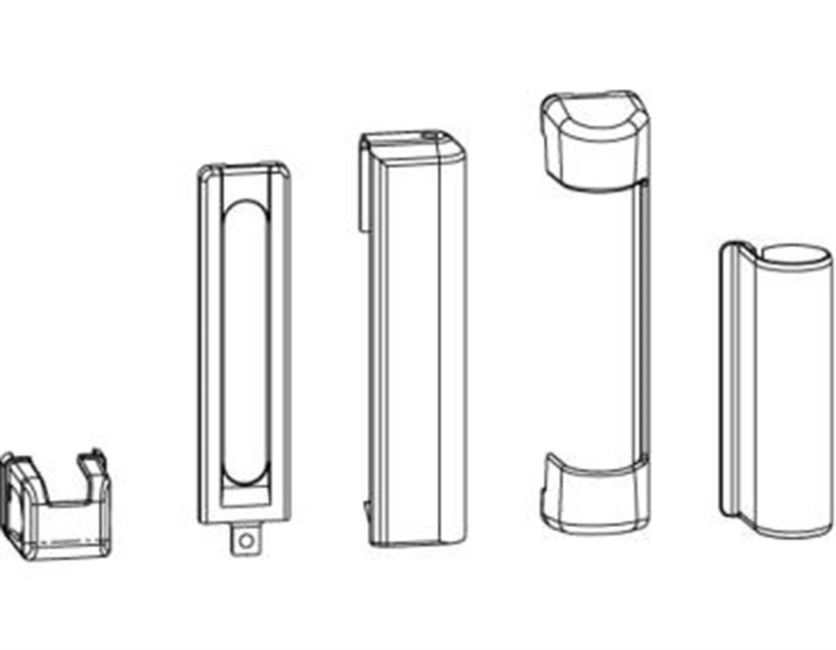 Kit di copertura supporto cerniera e supporto forb