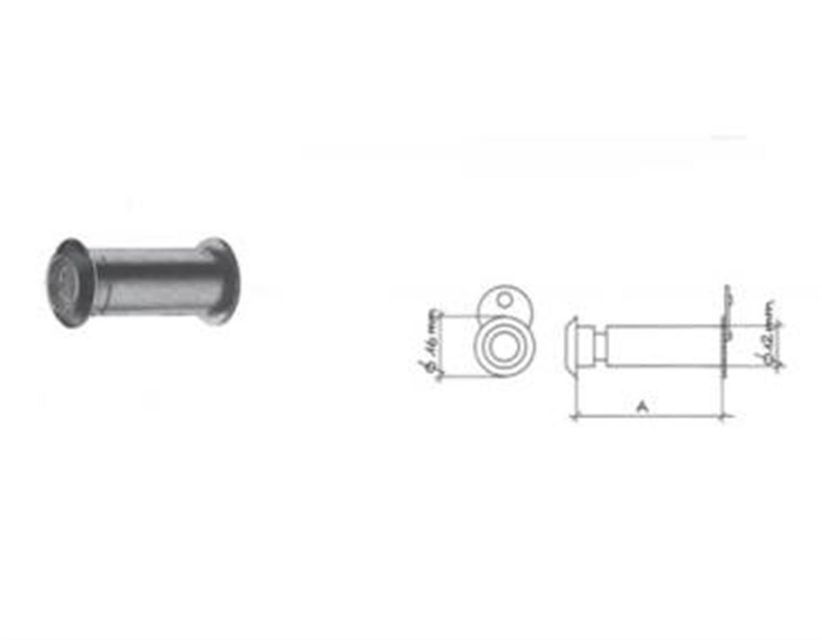 SPIONCINO 211 mm 12 23-40 OTTONATO